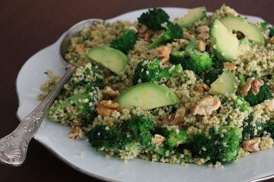 Miglio con Broccoli e Avocado